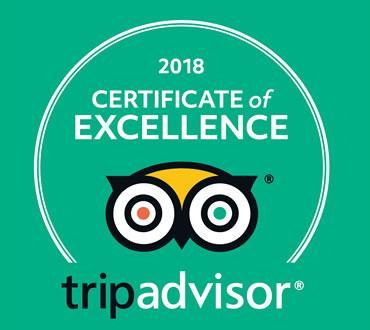 Certificat d'excellence Tripadvisor pour les visites guidées
