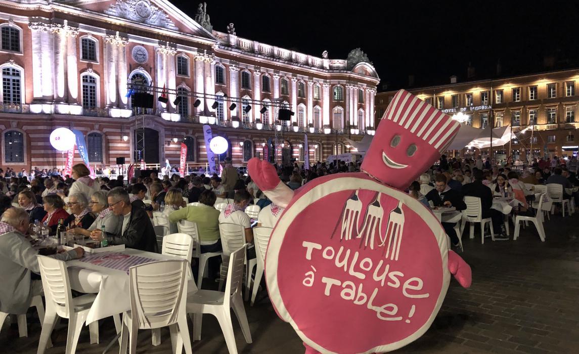 Banquet Capitole Toulouse à table