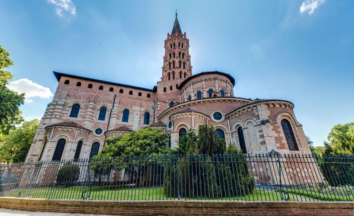 La basilique Saint-Sernin à Toulouse