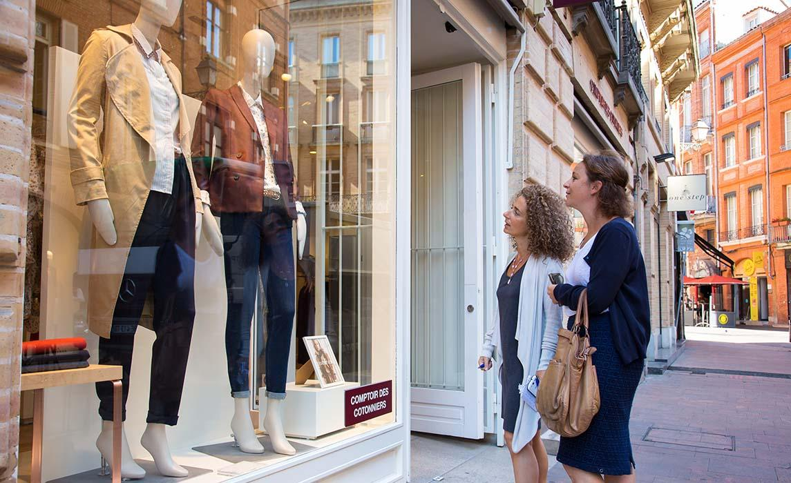 Shopping mode à Toulouse