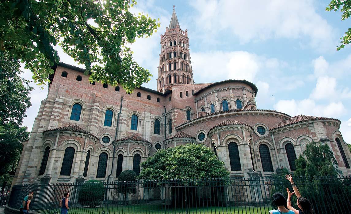 Sites et monuments Toulouse, la basilique Saint-Sernin