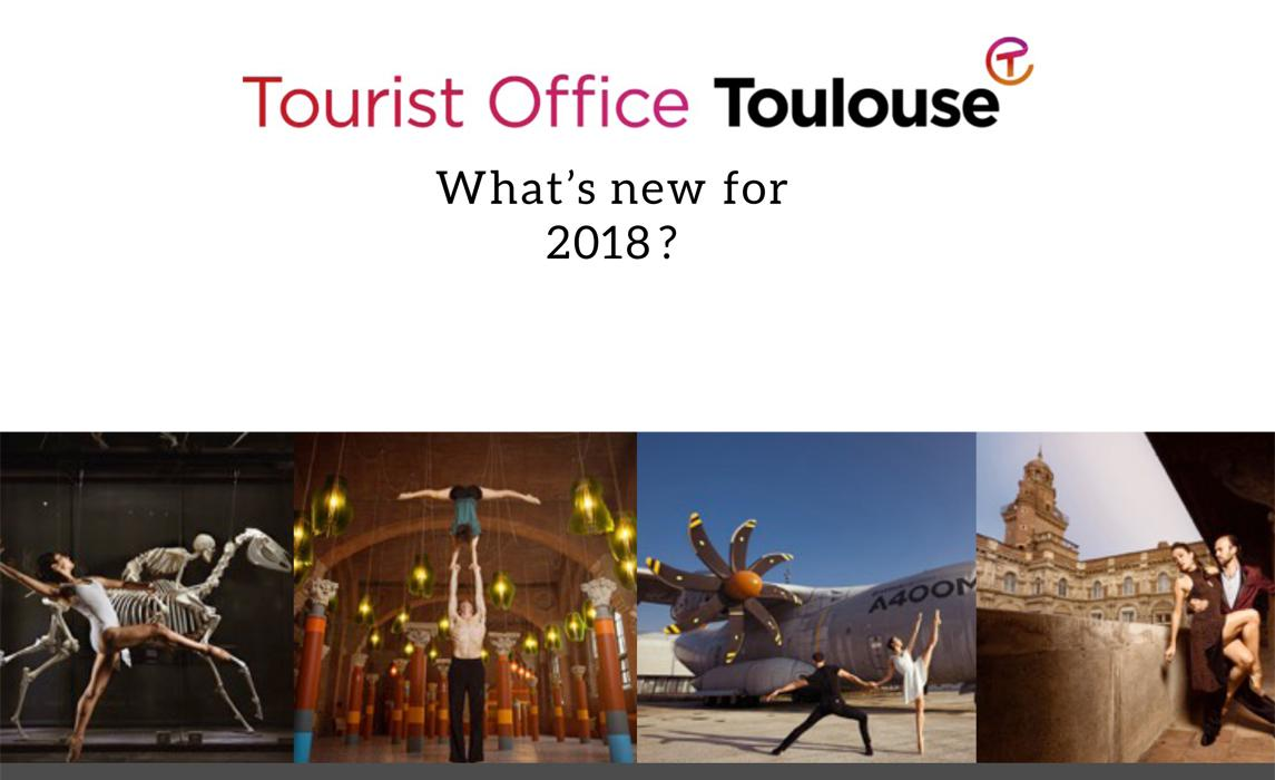 What's new 2018 Toulouse