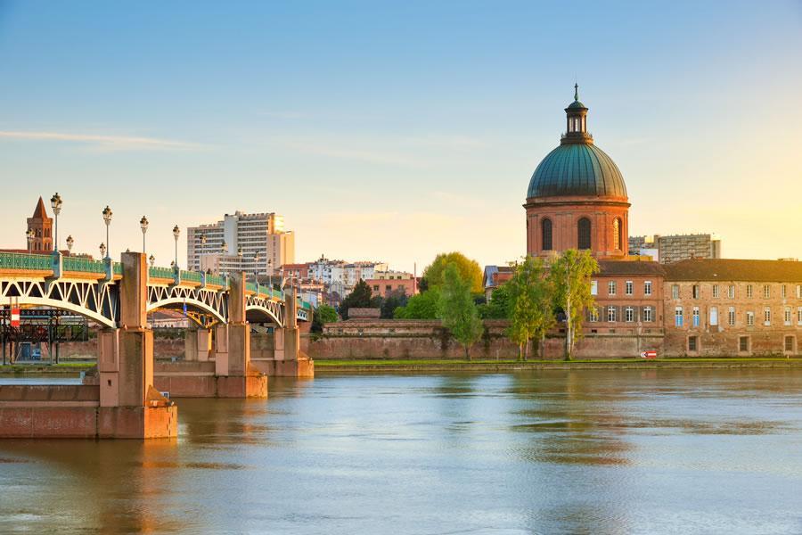Paisagem de Toulouse