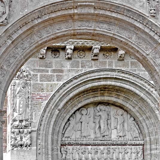 Sculptures romanes de la basilique Saint-Sernin