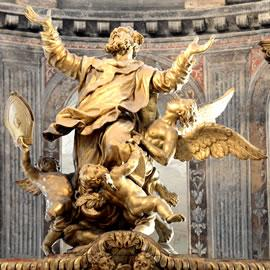 Sculpture du choeur de la basilique Saint-Sernin