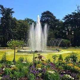 Visiter Toulouse, la fontaine du jardin du Grand Rond