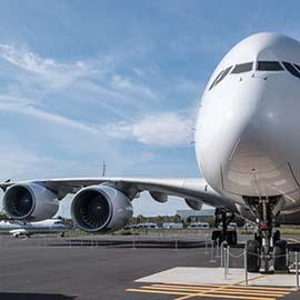 Visitez l'A380 à aeroscopia