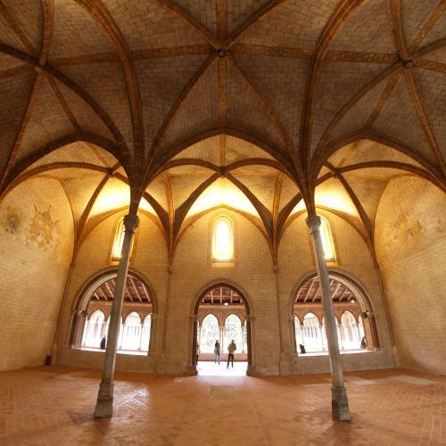 Salle capitulaire du couvent des Jacobins