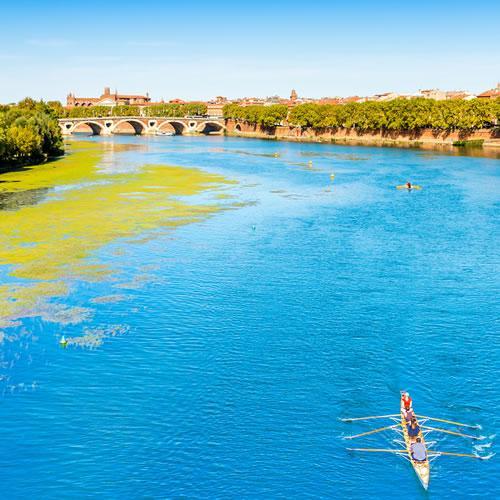 La Garonne à Toulouse