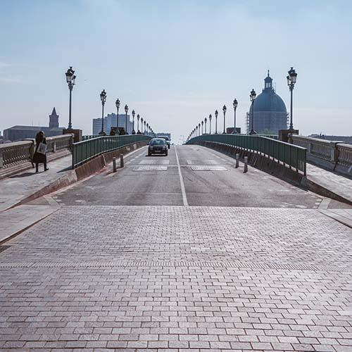 Venir à Toulouse en voiture ou en camping-car