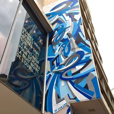 Graffiti rue Lapeyrouse